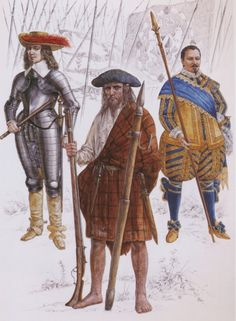 Scots in Swedish Thirty Years' War service.