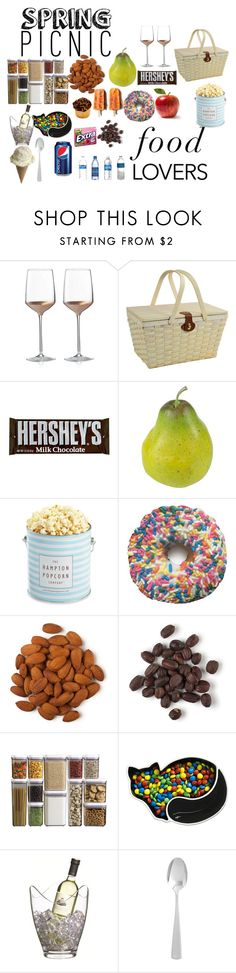 """""""food lovers"""" by lovettetajha ❤ liked on Polyvore featuring interior, interiors, interior design, home, home decor, interior decorating, Wedgwood, Picnic at Ascot, Nearly Natural and The Hampton Popcorn Company"""