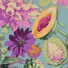 I can't get enough Martha Negley -- Classics Collection Fruit & Floral Purple