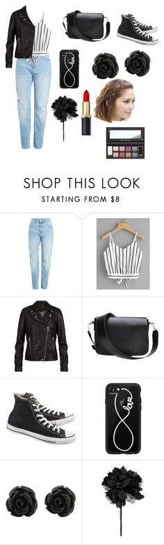 """Bad Girls need love, okay?"" by cowboygal ❤ liked on Polyvore featuring SET, Converse, Casetify and Ann Demeulemeester"