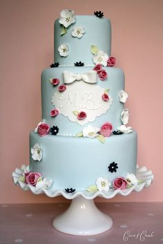 """I absolutely LOVE their creations! """"Cotton & Crumbs: Wedding Cakes, Cupcakes and Cookies"""""""