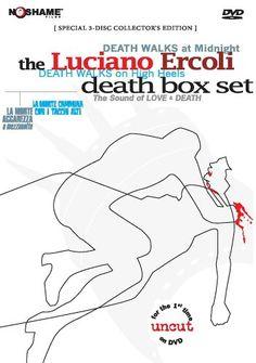 Luciano Ercoli's The Death Box Set • Death Walks on High Heels •Death Walks at Midnight • Luciano Ercoli