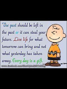 .no truer words were written Charlie Brown, Snoopy