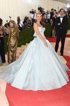 Claire Danes en robe Zac Posen sur-mesure