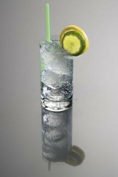 Vodka and Tonic w/lime by leonor