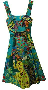 Clathas short dress Multi color print Japan Cotton on Tradesy
