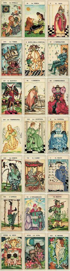 Divination: The Fiabeschi Tarot.