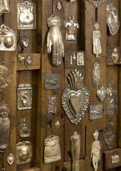 art sacro, milagro, mexican heart, mari emmerl, garden doors