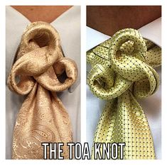 Super how to wear vans men necktie knots Ideas Cool Tie Knots, Cool Ties, Different Tie Knots, Tie Knot Styles, Tie A Necktie, Necktie Knots, Fancy Tie, How To Wear Vans, The Knot