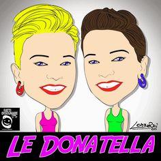 FattiDisegnare.com: Le Donatella