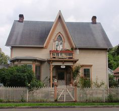 James Milne Gothic Revival Victorian by eg2006, via Flickr