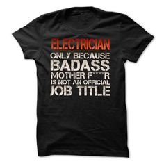 Funny Tshirt for electrician #sunfrogshirt