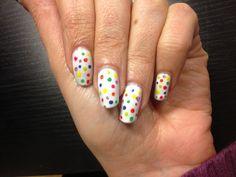Dotty nails!