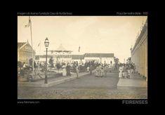 Praça Bernadino Bahia 1919 - Acervo da Casa de Rui Barbosa