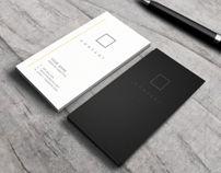 No.7 - Minimalist Business Card Template
