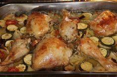 Knoblauch - Zitronen - Hähnchen mit Ofenkartoffeln, ein raffiniertes Rezept aus der Kategorie Geflügel. Bewertungen: 53. Durchschnitt: Ø 4,2.