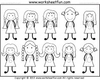 Number Tracing -1-10 – Worksheet