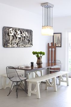 dining room | http://www.ruemag.com/gallery/kitchens/