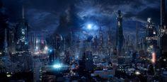 Future City 9 by rich35211.deviantart.com on @DeviantArt