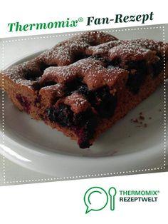 Kirsch-Rührkuchen großes Blech von Früher Vogel. Ein Thermomix ® Rezept aus der Kategorie Backen süß auf www.rezeptwelt.de, der Thermomix ® Community.