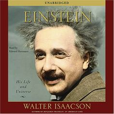 """Read """"Einstein His Life and Universe"""" by Walter Isaacson available from Rakuten Kobo. By the author of the acclaimed bestsellers Benjamin Franklin and Steve Jobs, this is the definitive biography of Albert . Ron Howard, Steve Jobs, Books To Read, My Books, Prix Nobel, Theory Of Relativity, Kindle, E Mc2, Free Mind"""