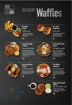 Is there a science to developing dining establishment menus to sway your clients' purchasing decisions? Here's 6 menu design software application for . Cafe Menu Design, Food Menu Design, Restaurant Menu Design, Restaurant Identity, Menu Board Design, Restaurant Restaurant, Food Graphic Design, Web Design, Banana Crumble