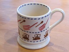 Emma Bridgewater Pink Utility 0.5 Pint Mug