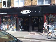 Sister Ray , record shop Berwick st, Soho