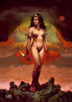 Dejah Thoris.