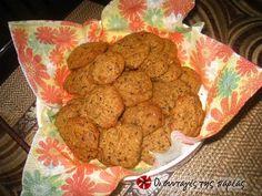 Ελαφριά μπισκότα βρώμης με άρωμα πορτοκάλι #sintagespareas