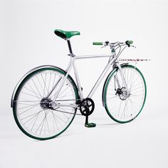 Green, Sport Edition, Flat carrier. Bicycle, Green, Sports, Flat, Bicycle Kick, Bike, Bass, Sport, Bicycles