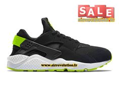 efc36b9578eb Boutique Officiel Nike Air Huarache Run Suede Homme Anthracite Gomme  marron Platine pur