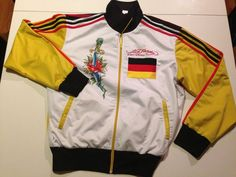 7e4680731c Germany World Cup 2014 Champion Track Jacket For Med By Ed Hardy Size L   EdHardy  sportsjacket
