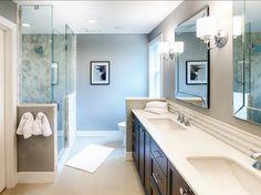 Bathroom. Beautiful Bathroom Design. #BathroomDesign