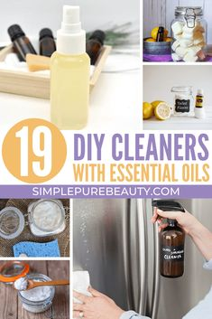 Don't miss out on these DIY cleaners with essential oils! You'll be able to clean your entire house naturally from top to bottom. Homemade Dishwasher Soap, Homemade Glass Cleaner, Laundry Detergent Recipe, Natural Cleaning Recipes, Homemade Cleaning Products, Natural Cleaning Products, Natural Products, Diy Cleaners, Cleaners Homemade