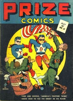 Cover for Prize Comics (Prize, 1940 series) #v2#9 (21), cover by Jack Binder