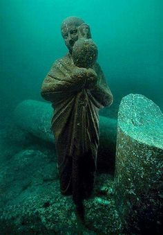 Legendary lost city of Heracleion