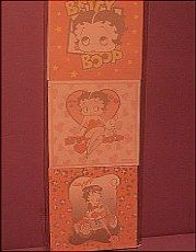 Betty Boop sticky notes.