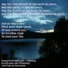 Blessing- John O'Donohue...