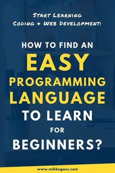What programming language should you learn first? What are the most popular programming languages for coding, computer science, and web development? Learn how to find the easiest programming language for beginners so that you can focus on learning instead of troubleshooting syntax errors. Find the perfect coding language that's easy to learn and achieve your goals with the best online courses and tutorials. #mikkegoes #coding #learntocode #webdeveloper #tech #webdevelopment #programming