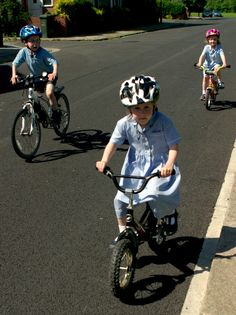 Cycling is safe for kids, no need to wrap them in cotton-wool ...