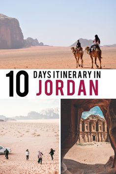 The ultimate itinerary to discover Jordan in 10 days. Best Places To Travel, Cool Places To Visit, Jordan Photos, Jordan Travel, Air Balloon Rides, Travel Guides, Travel Tips, Cheap Travel, Worlds Of Fun