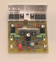 Eletrônica Campo Elétrico : Amplificador 200W Best Subwoofer, Audio Box, Hifi Amplifier, Speaker Box Design, Circuit Diagram, Electronics Projects, Audio Amplifier, Printed Circuit Board, Loudspeaker