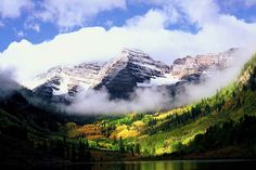 These Colorado peaks that literally reach into the clouds: