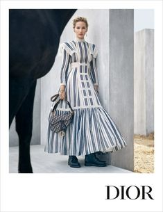 Jennifer Lawrence Stars in Another 'Dior' Campaign!: Photo Jennifer Lawrence stars in the brand new Dior Cruise 2019 collection campaign. The setting for the photo shoot was chosen because of its Jennifer Lawrence, Winter 2018 Fashion, Viviane Sassen, Dinner Outfits, Street Style Edgy, French Fashion, Outfits For Teens, Christian Dior, Vintage Outfits