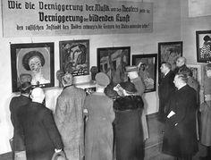 Ausstellung Entartete Kunst (Gruppe 6), Berlin 1938