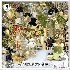 Bribri62-Scrap: Collection Golden New Year de Kittyscrap
