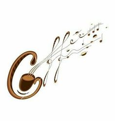 two of my favorites - coffee & music. Coffee Talk, Coffee Is Life, I Love Coffee, Coffee Break, My Coffee, Coffee Drinks, Morning Coffee, Coffee Shop, Coffee Cups
