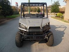 New 2017 Polaris RANGER EV Avalanche Gray ATVs For Sale in Tennessee.