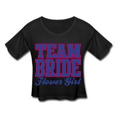"#Women's ""Team #Bride"" #CropT-shirt #swag #SwagGirl #dancewear #hiphop #bridalshower #bridesmaid"